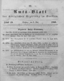 Amts-Blatt der Königlichen Regierung zu Breslau, 1851, Bd. 42, St. 19