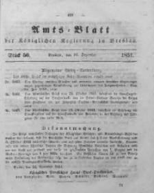 Amts-Blatt der Königlichen Regierung zu Breslau, 1851, Bd. 42, St. 50