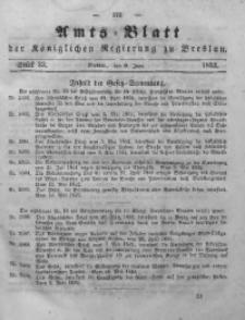 Amts-Blatt der Königlichen Regierung zu Breslau, 1852, Bd. 43, St. 23