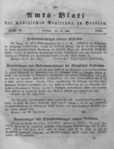 Amts-Blatt der Königlichen Regierung zu Breslau, 1852, Bd. 43, St. 30