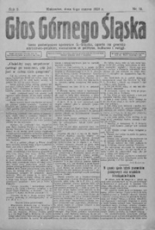 Głos Górnego Śląska, 1922, R. 2, nr 15