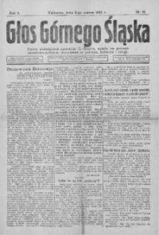 Głos Górnego Śląska, 1922, R. 2, nr 16