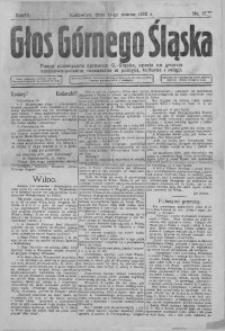 Głos Górnego Śląska, 1922, R. 2, nr 17