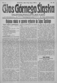 Głos Górnego Śląska, 1922, R. 2, nr 53