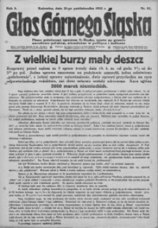 Głos Górnego Śląska, 1922, R. 2, nr 82