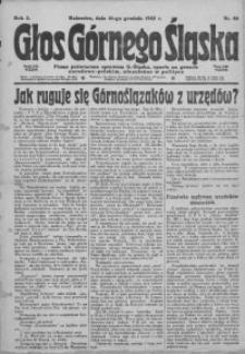 Głos Górnego Śląska, 1922, R. 2, nr 98