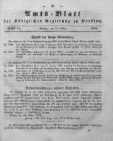 Amts-Blatt der Königlichen Regierung zu Breslau, 1853, Bd. 44, St. 12