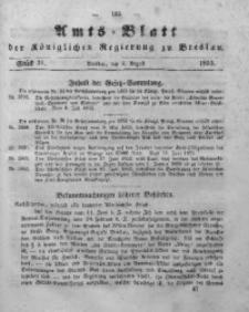 Amts-Blatt der Königlichen Regierung zu Breslau, 1853, Bd. 44, St. 31
