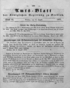 Amts-Blatt der Königlichen Regierung zu Breslau, 1853, Bd. 44, St. 32
