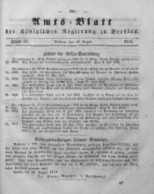 Amts-Blatt der Königlichen Regierung zu Breslau, 1853, Bd. 44, St. 33