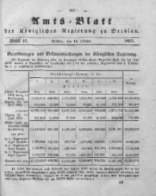 Amts-Blatt der Königlichen Regierung zu Breslau, 1853, Bd. 44, St. 41