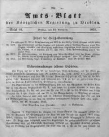 Amts-Blatt der Königlichen Regierung zu Breslau, 1853, Bd. 44, St. 46