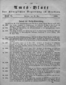 Amts-Blatt der Königlichen Regierung zu Breslau, 1854, Bd. 45, St. 20