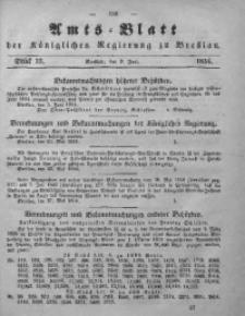 Amts-Blatt der Königlichen Regierung zu Breslau, 1854, Bd. 45, St. 23