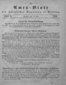 Amts-Blatt der Königlichen Regierung zu Breslau, 1854, Bd. 45, St. 28
