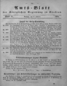 Amts-Blatt der Königlichen Regierung zu Breslau, 1854, Bd. 45, St. 40