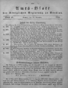 Amts-Blatt der Königlichen Regierung zu Breslau, 1854, Bd. 45, St. 45