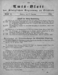 Amts-Blatt der Königlichen Regierung zu Breslau, 1854, Bd. 45, St. 50