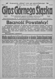 Głos Górnego Śląska, 1923, R. 3, nr 15