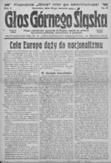 Głos Górnego Śląska, 1923, R. 3, nr 49