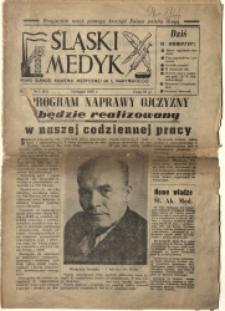 Śląski Medyk, 1956, R. 4, nr 1 (33)