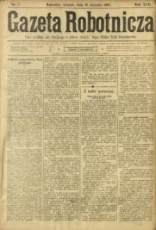 Gazeta Robotnicza, 1907, R. 17, nr 7