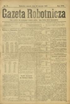 Gazeta Robotnicza, 1907, R. 17, nr 13