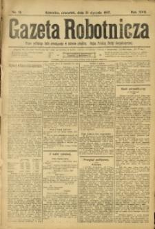 Gazeta Robotnicza, 1907, R. 17, nr 14