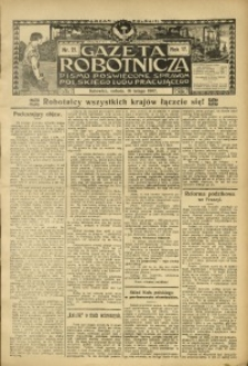 Gazeta Robotnicza, 1907, R. 17, nr 21