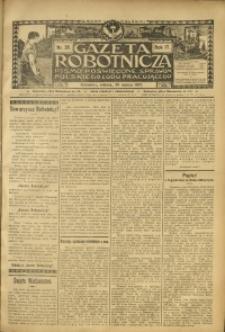 Gazeta Robotnicza, 1907, R. 17, nr 39