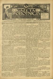 Gazeta Robotnicza, 1907, R. 17, nr 40