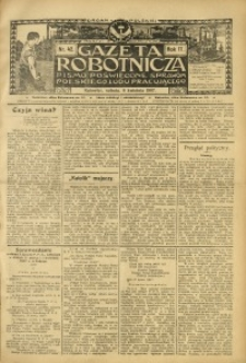 Gazeta Robotnicza, 1907, R. 17, nr 42