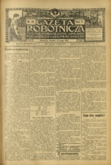 Gazeta Robotnicza, 1907, R. 17, nr 58