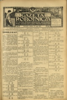 Gazeta Robotnicza, 1907, R. 17, nr 63