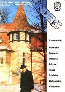 Indeks : pismo Uniwersytetu Opolskiego. 1999/2000, nr 9 (17)