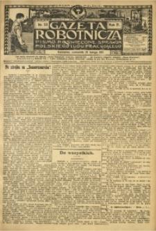 Gazeta Robotnicza, 1911, R. 21, nr 20