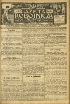 Gazeta Robotnicza, 1911, R. 21, nr 81