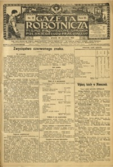 Gazeta Robotnicza, 1912, R. 22, nr 12