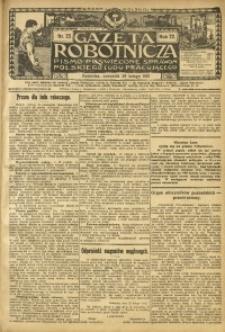 Gazeta Robotnicza, 1912, R. 22, nr 25