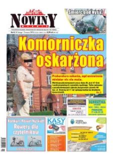 Nowiny Nyskie 2015, nr 9.