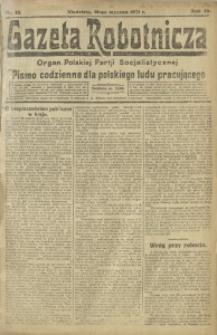 Gazeta Robotnicza, 1921, R. 26, nr 12