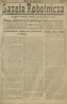 Gazeta Robotnicza, 1921, R. 26, nr 27