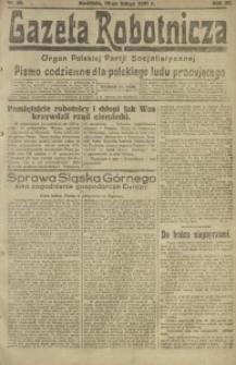 Gazeta Robotnicza, 1921, R. 26, nr 35