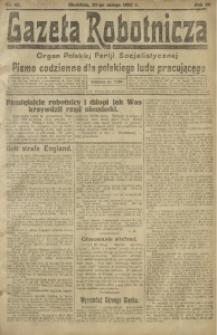 Gazeta Robotnicza, 1921, R. 26, nr 47