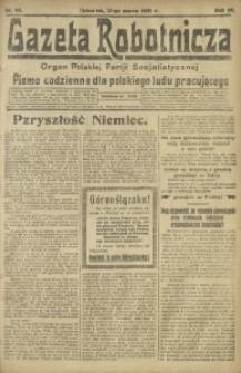 Gazeta Robotnicza, 1921, R. 26, nr 62