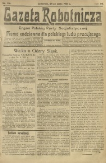 Gazeta Robotnicza, 1921, R. 26, nr 116