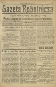 Gazeta Robotnicza, 1921, R. 26, nr 123