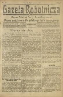 Gazeta Robotnicza, 1921, R. 26, nr 124