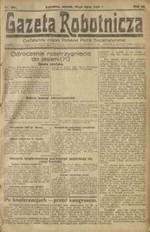 Gazeta Robotnicza, 1921, R. 26, nr 159
