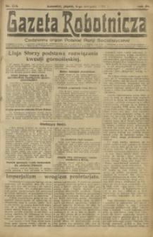 Gazeta Robotnicza, 1921, R. 26, nr 174